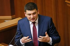 Các đảng phái Ukraine nhất trí lập liên minh mới tại Quốc hội