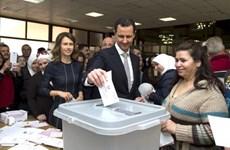 Syria kéo dài thời gian bỏ phiếu bầu cử quốc hội thêm 5 tiếng