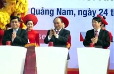 Phát lệnh khởi công một số dự án trọng điểm ở Quảng Nam