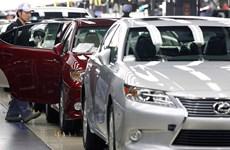 Toyota mất sản lượng 80.000 xe do động đất ở Nhật Bản