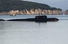 Tàu ngầm hạt nhân Severodvinsk của Nga phóng tên lửa Kalibr