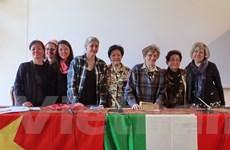 Việt Nam-Italy tôn vinh vai trò phụ nữ trong chiến tranh và hòa bình