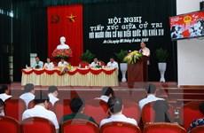 Thủ tướng Nguyễn Xuân Phúc vận động bầu cử tại Hải Phòng