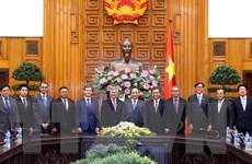 Thủ tướng Chính phủ tiếp đại sứ các nước thành viên ASEAN