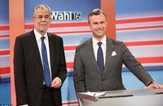 Hai ứng cử viên tổng thống Áo giành số phiếu sít sao nhau
