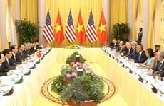 Chủ tịch nước Trần Đại Quang hội đàm với Tổng thống Barack Obama