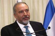 Ông Liberman được bổ nhiệm làm Bộ trưởng Quốc phòng Israel