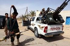 Quân chính phủ đoàn kết dân tộc Libya tấn công thành trì IS