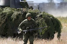 NATO huy động tới 10.000 quân, rầm rộ tập trận ở Estonia