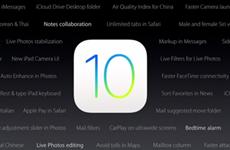 Những tính năng của iOS 10 không được Apple giới thiệu