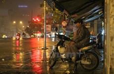 Khu vực Đông Bắc Bộ và Hà Nội đêm nay có mưa rào và dông
