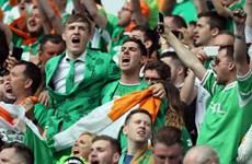 EURO 2016: Cổ động viên Ireland chinh phục nước Pháp