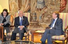 Bỉ và châu Âu muốn tăng cường quan hệ lập pháp với Việt Nam