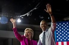 Tổng thống Mỹ Obama đi vận động tranh cử cho bà Clinton