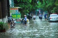 Bắc Bộ tiếp tục mưa giông lớn diện rộng gây ngập úng, lũ quét