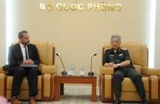 Việt Nam-Hoa Kỳ thảo luận về thúc đẩy hợp tác quốc phòng