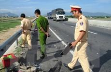 Ninh Thuận: Truy bắt lái xe container gây tai nạn rồi bỏ trốn