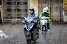 Hôm nay, Bắc Bộ và thủ đô Hà Nội tiếp tục có mưa rào và dông
