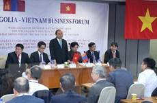 Thủ tướng kêu gọi doanh nghiệp Việt Nam, Mông Cổ kết nối với nhau