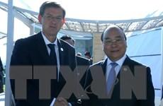 Thủ tướng Nguyễn Xuân Phúc hội đàm với Thủ tướng Slovenia