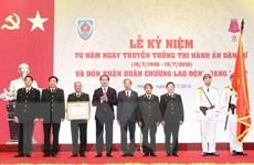 Chủ tịch nước dự kỷ niệm 70 năm Ngày truyền thống Thi hành án dân sự