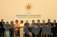 Khai mạc Hội nghị Quan chức Kinh tế cấp cao ASEAN ở Lào
