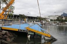 Sập cầu nâng tại địa điểm đua thuyền buồm ở Olympic 2016