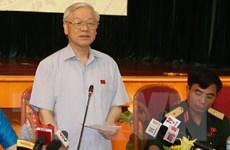 Tổng Bí thư: Quyết tâm làm trong sạch Đảng, bộ máy Nhà nước