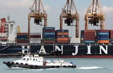 Hãng tàu biển Hanjin bảo vệ tài sản sau khi nộp đơn phá sản