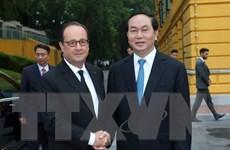 Lãnh đạo Việt Nam-Pháp nhất trí thúc đẩy hợp tác quốc phòng