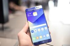 """Samsung đề nghị người dùng thay máy Note 7 """"càng sớm càng tốt"""""""