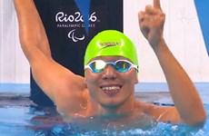 """[Video] """"Kình ngư"""" Võ Thanh Tùng xuất sắc đoạt HCB Paralympic"""