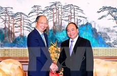 Thủ tướng tiếp các ngân hàng, tập đoàn hàng đầu Trung Quốc