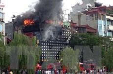 Hải Phòng: Kịp thời dập tắt đám cháy tại quán karaoke 7 tầng