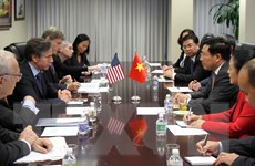 Việt Nam, Hoa Kỳ trao đổi thúc đẩy giải quyết vấn đề Biển Đông