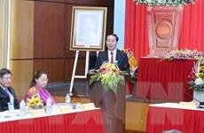 Phát biểu của Chủ tịch nước tại buổi làm việc với Tổng LĐ Lao động