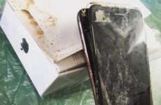 iPhone 7 phát nổ trên đường vận chuyển đến tay người dùng