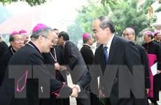 Chủ tịch MTTQ dự khai mạc Đại hội Hội đồng Giám mục Việt Nam