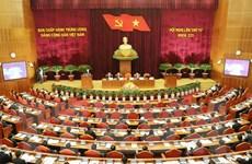 Ngày làm việc đầu tiên Hội nghị lần thứ tư BCH Trung ương Đảng