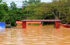 Nước lũ vẫn dâng cao, Hà Tĩnh và Quảng Bình tiếp tục ngập sâu