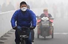 Thành phố Bắc Kinh tiếp tục chìm trong khói mù ô nhiễm nặng