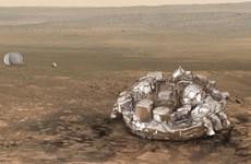 Tàu đổ bộ Schiaparelli của châu Âu nổ tung trên bề mặt Sao Hỏa