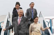 Tổng thống Myanmar bắt đầu thăm cấp Nhà nước tới Việt Nam