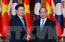 Việt Nam, Lào nhất trí thúc đẩy kim ngạch thương mại song phương