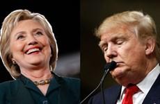 """Số tiền các """"sao"""" Mỹ ủng hộ bà Clinton cao gấp 20 lần ông Trump"""