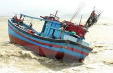 Ứng cứu tàu cá và ngư dân gặp nạn ở khu vực gần đảo Phú Quý