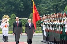 Tổng thống Ireland: Sẽ có chiến lược quốc gia về hợp tác với Việt Nam