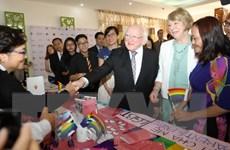 Tổng thống Ireland Higgins kết thúc tốt đẹp chuyến thăm Việt Nam