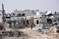 Không kích tiếp diễn tại các vùng phiến quân kiểm soát ở Aleppo