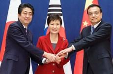 Trung, Nhật nhất trí thúc đẩy gặp thượng đỉnh ba bên với Hàn Quốc